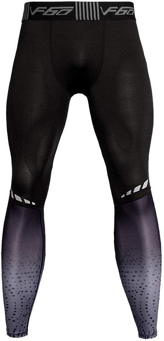 Leggings de Hombre Pantalones de Fitness de Alta Elasticidad de ...