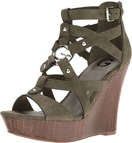 G by GUESS Women's Dodge Olive Sandal