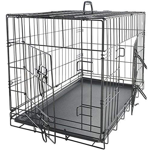 42 inch double door crate - 4