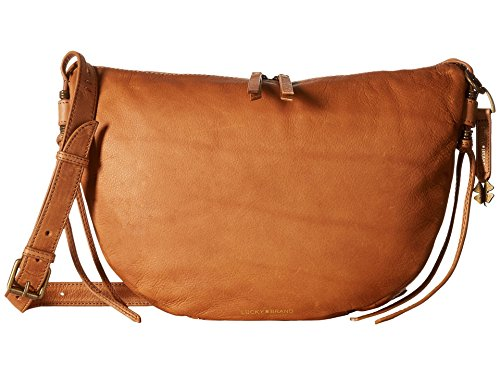 Lucky Brand Nyla Crescent Hobo, Tobacco by Lucky Brand