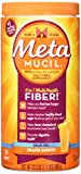 Metamucil Sugar Free, Orange Smooth – 46.6 oz Bottle (Pack of 2- 228 doses) For Sale