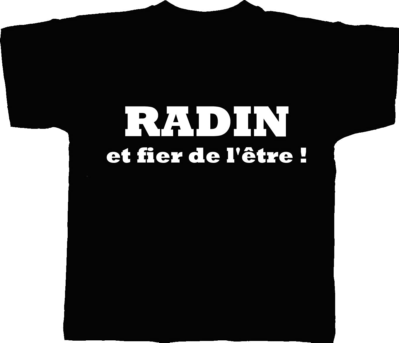PATOUTATIS Mens Radin and Proud of It Straight Fit//Round Neck