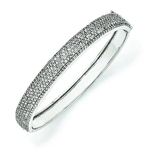 Sterling Silver CZ Bracelet JewelryWeb