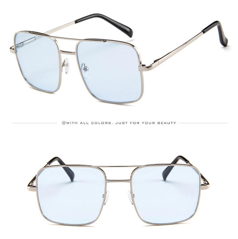 3881eb6708c3 Amazon.com  2019 Latest Hot Style!!!Teresamoon Women Men Vintage Retro  Glasses Unisex Fashion Oversize Frame Sunglasses Eyewear  Home   Kitchen