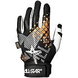 All Star Youth System 7 Inner Gloves White/Orange Left Small