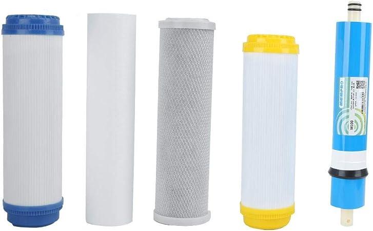 Filtro purificador de Agua, Universal 5 etapas Filtro de Agua ...