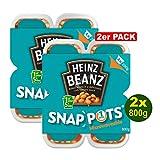Heinz Beans Snap Pots 4x200g