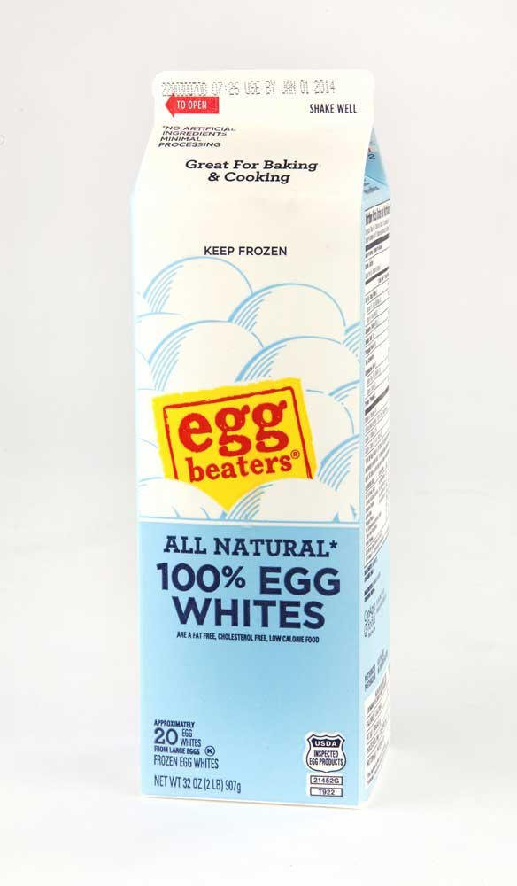 Conagra Egg Beaters Frozen Egg White, 2 Pound -- 12 per case. by Cargill