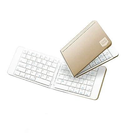 ZHX Teclado Plegable Interfaz USB USB Bluetooth Plegable Teclado Portátil Liviano iOS/Android Mobile Tablet