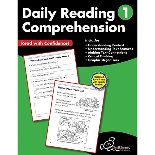 Daily Reading Comprehension Grade 1 (Chalkboard Publishing Workbooks)