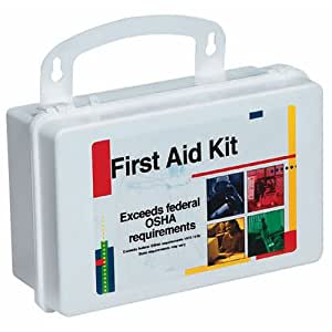 First Aid Only Bulk First Aid Kit with Gasket for 10 Person