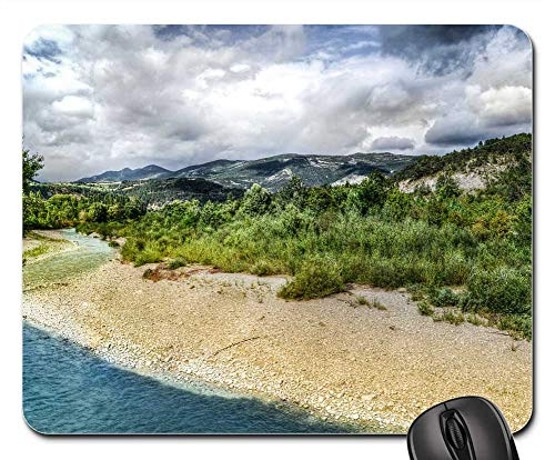 - Mouse Pad - River Drome France Travel Europe Outdoor