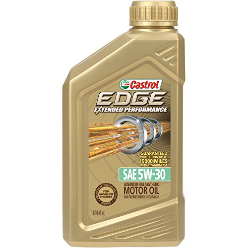 Castrol 06243 EDGE Extended Performance 5W-30 Advanced Full Synthetic Motor Oil, 1 Quart, 6 Pack