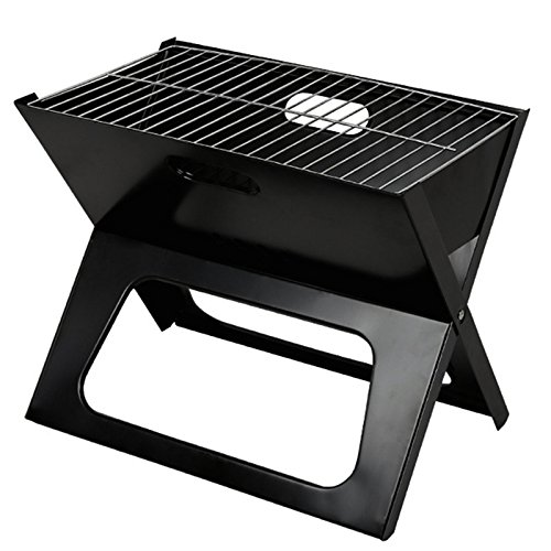 YLSZ-Folding Barbecue Stove, X Type Household Barbecue Stove, Outdoor Folding Portable Barbecue Rack, Bbq
