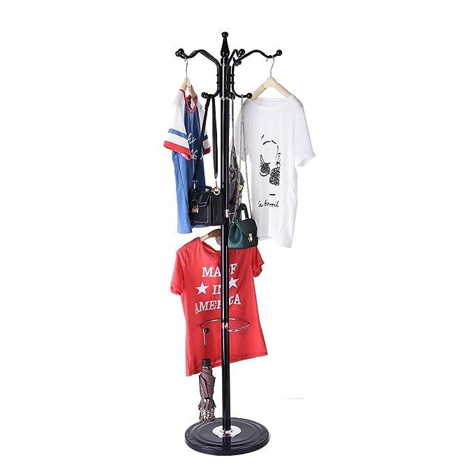 Amazon.com: GXOK Fashion Creative Coat Rack,15 Hooks Metal ...