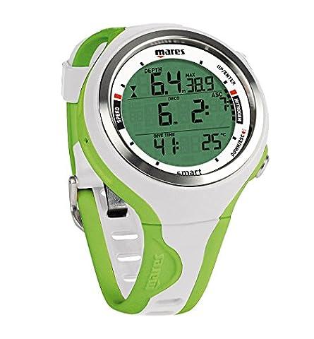 Mares Smart Wrist Dive Computer, White/Lime - Dive Computer Discount