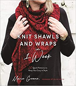 a0c1d8152 Amazon.com  Knit Shawls   Wraps in 1 Week  30 Quick Patterns to Keep ...