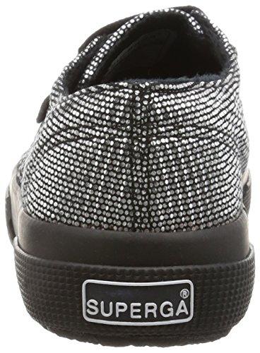 Superga 2750-plisselamew, Women's Flatform Pumps Grey (Grey Silver 031)