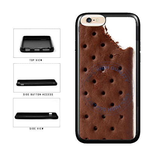 BleuReign(TM) Funny Half Eaten Ice Cream Sandwich TPU RUBBER SILICONE Phone Case Back Cover For Apple iPhone 7 (Dripping Ice Cream Iphone 5s Case compare prices)