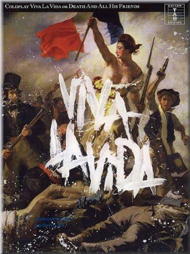 Coldplay – Viva la vida or Death And All His Friends – Guitarra ...