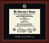 Kansas Jayhawks Diploma Frame - Black