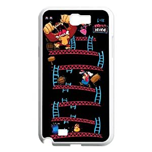 HXYHTY Cover Custom Super Mario Phone Case For Samsung Galaxy Note 2 N7100 [Pattern-3]
