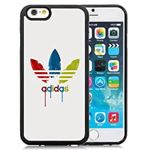New Pupular And Unique Designed Case For iPhone 6 4.7 inch With Adidas Dripping Paint Logo Black Phone Case