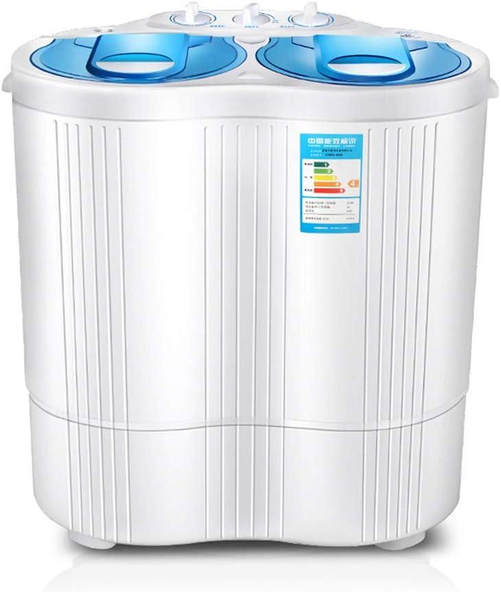DEAR-JY Portatil Lavadora,Mini Lavadora de Tina Doble doméstica de 4.5 KG,Lavado y deshidratación,Adecuado para el hogar el Estudiante el apartamento el Viaje