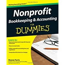 Nonprofit Bookkeeping and Accounting For Dummies