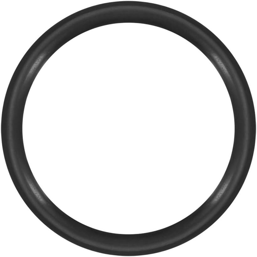 uxcell Nitrile Rubber O-Rings 10mm OD 8mm ID 1mm Width, Metric Buna-N Sealing Gasket, Pack of 50