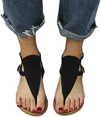 da48a47135f0d9 vermers Clearance Sale Women Slippers Flip Flops - Ladies Summer Low Flat  Heel Shoes Beach Sandals