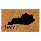Home & More 102861830 Kentucky Doormat, 18'' x 30'', Natural/Black