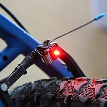 Houkiper Fahrrad Rote LED Bremslicht Outdoor Wasserdicht Radfahren Wandern Sicher