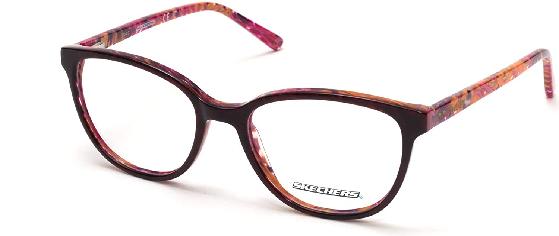 Eyeglasses Skechers SE 2137 048 shiny dark brown