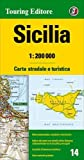 Sicilia 1:200.000. Carta stradale e turistica. Ediz. multilingue