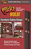 Quakehold! 4162 15-Inch Furniture Strap