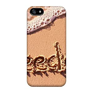 Qhk3982IdVC Tpu Phone Case With Fashionable Look For Iphone 5/5s - Sea Freedom