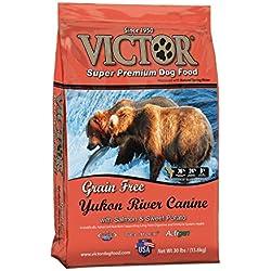 Victor Yukon River Canine With Salmon Meal Grain-Free Dry Dog Food, 30 Lb. Bag