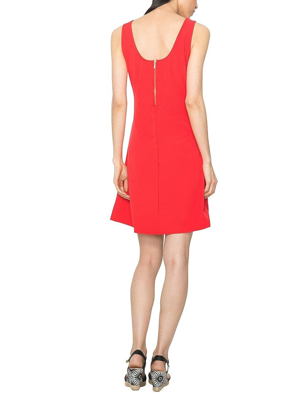 Desigual Barceloneta - Robe - Trapèze - Imprimé - Sans manche - Femme -  Rouge (Fresa) - FR  36 (Taille fabricant  36)  Amazon.fr  Vêtements et  accessoires 61af59e050e7
