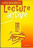 Lecture active - CE2. Fichier autocorrectif