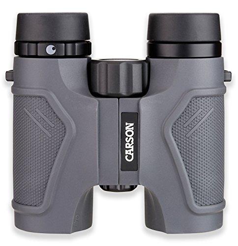 Carson 3D Series High Definition Waterproof Binoculars – Grey For Sale