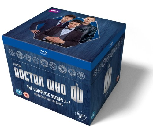 Doctor Who: The Complete Box Set - Series 1-7 [Blu-ray] [Import] (Who Doctor Set Box)