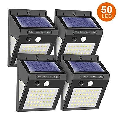 MODAR Solar Light Outdoor Motion Sensor Lights