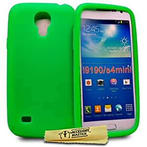 Accessory Master - Carcasa de silicona para Samsung Galaxy S4 Mini i9190, color verde