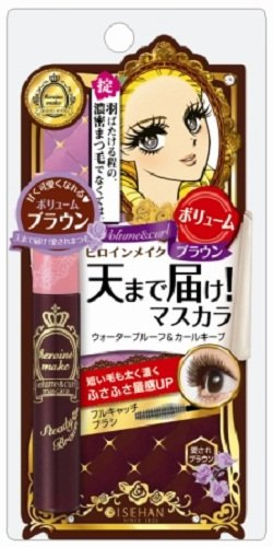 Kiss Me Heroine Make Volume & Curl Mascara Brown by Kiss Me