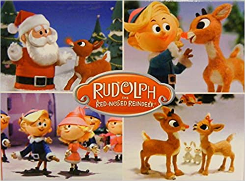 b47f8a462 RUDOLPH the RED-NOSED REINDEER**Boxed set of 24 Christmas Cards & Envelopes  Cards – 2012