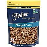 FISHER Chef's Naturals Chopped Pecans, No Preservatives, Non-GMO, 24 oz
