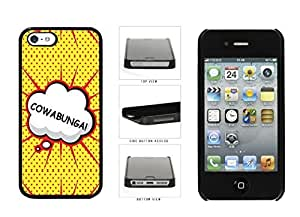 Cowabunga Japan Comic Text Plastic Phone Case your Back Cover Apple iphone 4s magnesium that