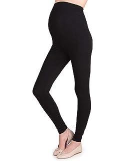 a51e0830ee362 Seraphine Women's Essential Over Bump Modal Maternity Leggings Black