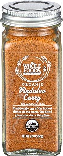 Curry Seasoning (Whole Foods Market Organic Vindaloo Curry Seasoning, 2.19 oz)